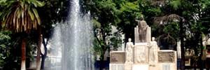 Monumento Central en Plaza Italia - Mendoza - Argentina